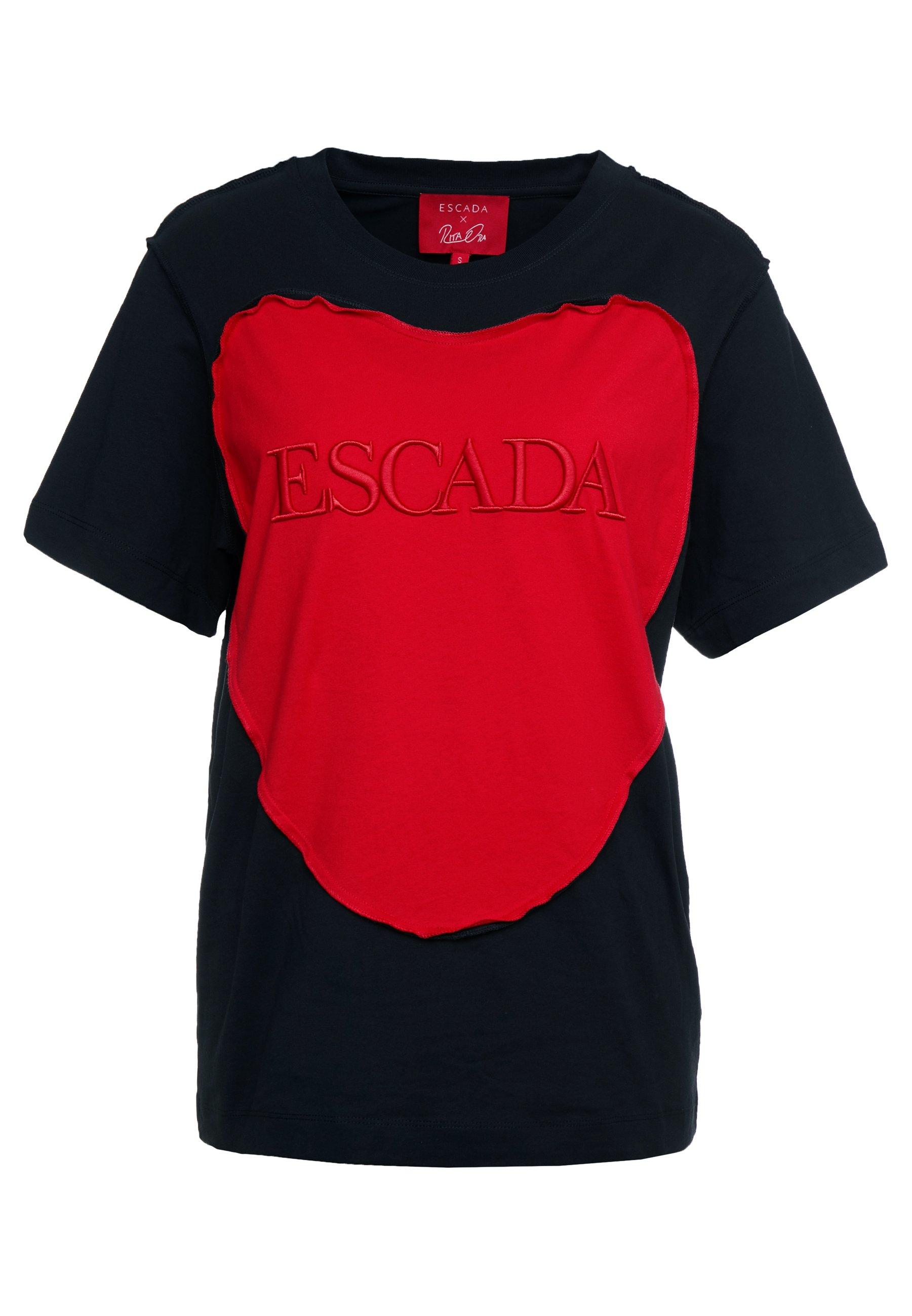 Escada Sport EHERZ TEE - Print T-shirt - black