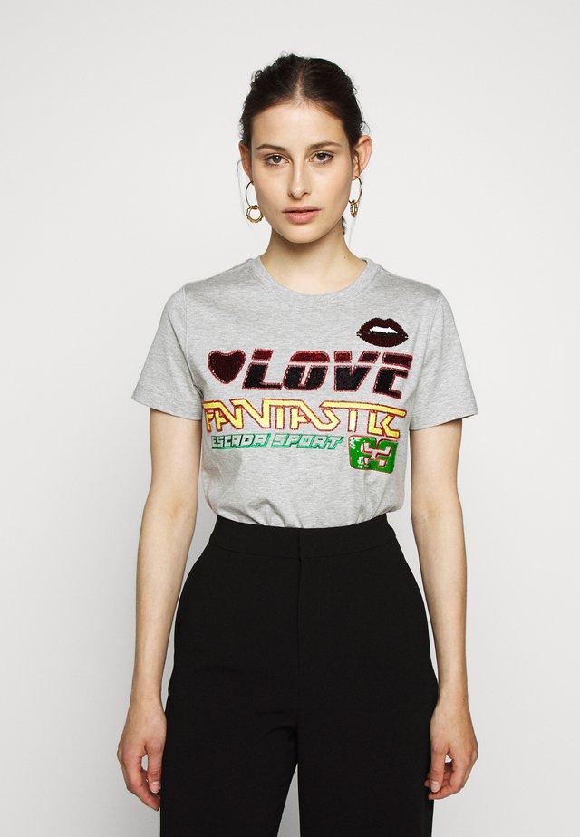 PRAIA - T-Shirt print - vapour