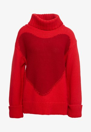 SPIDER  - Strickpullover - red