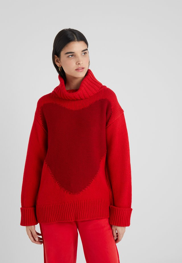 SPIDER  - Sweter - red