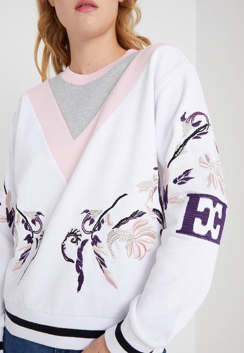 ekonomiczny Escada Sport ELOSANGO - Bluza - white Odzież Damska WTZE-LA5