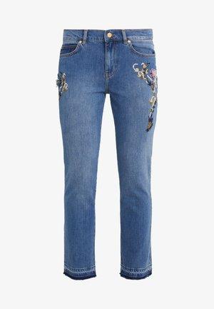 Jeans a sigaretta - medium blue