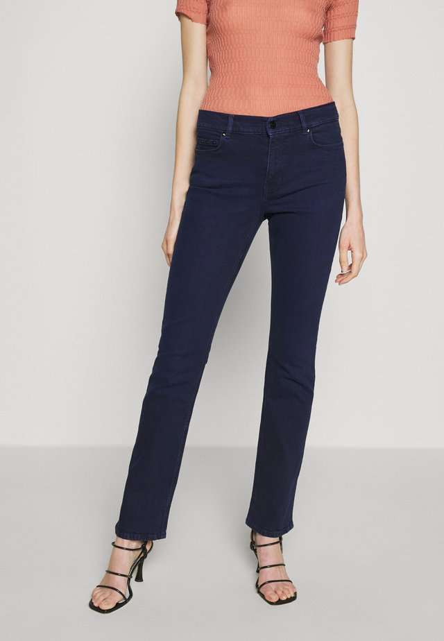 FIVE POCKET - Slim fit jeans - dark blue