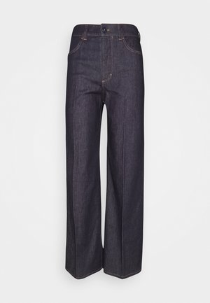 TAILAS - Flared jeans - navy