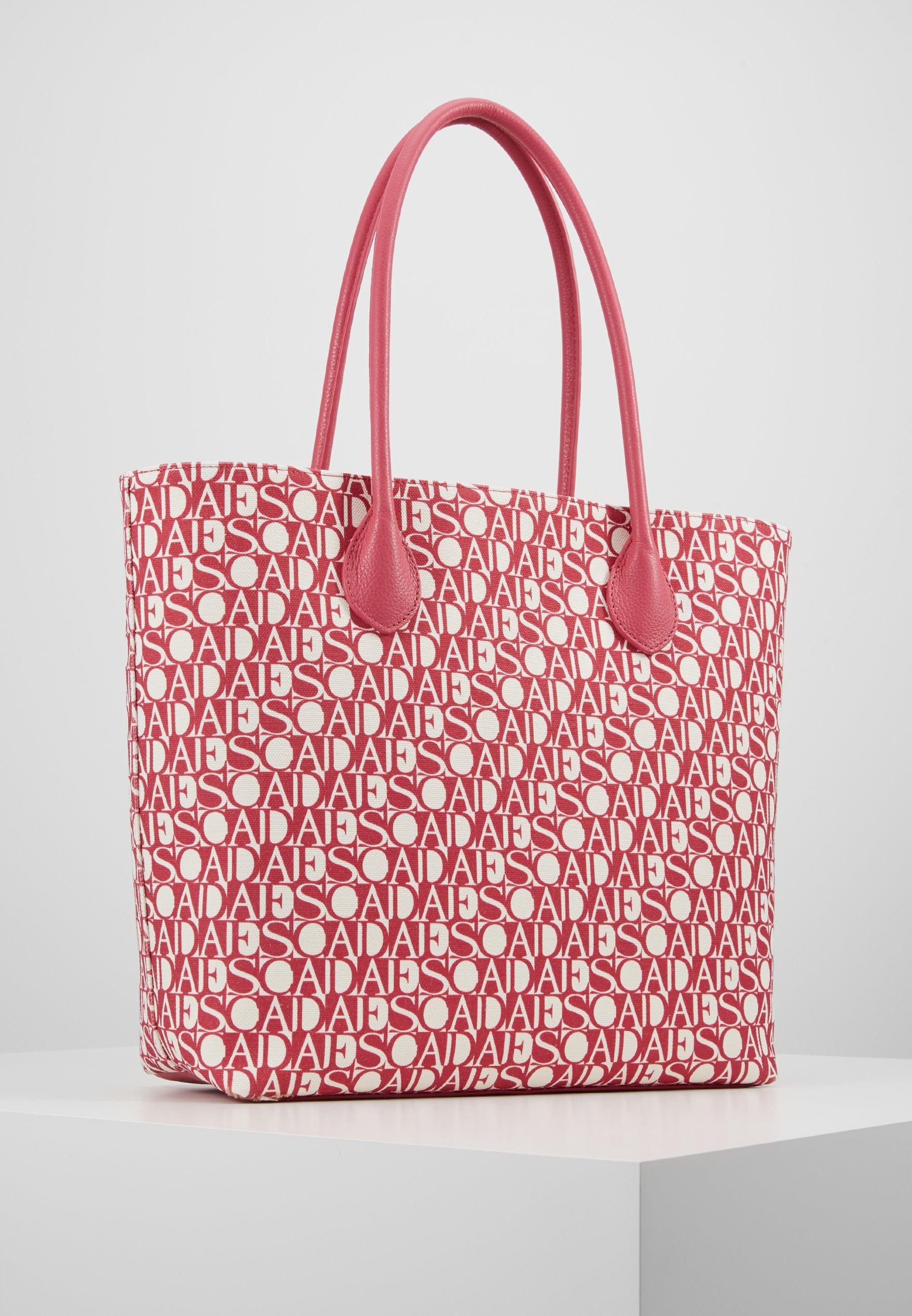 Escada Sport Canvas Shopper - Cabas Red