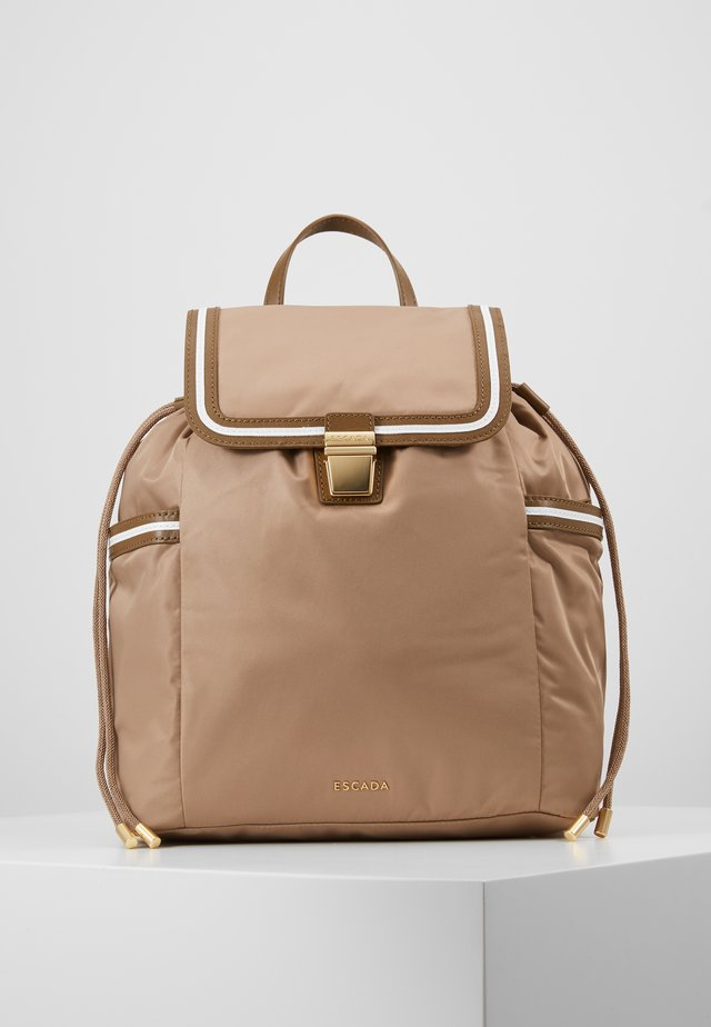 BACKPACK - Ryggsekk - beige