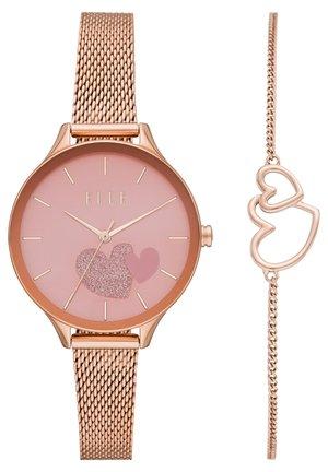 SET - Uhr - rose gold-coloured