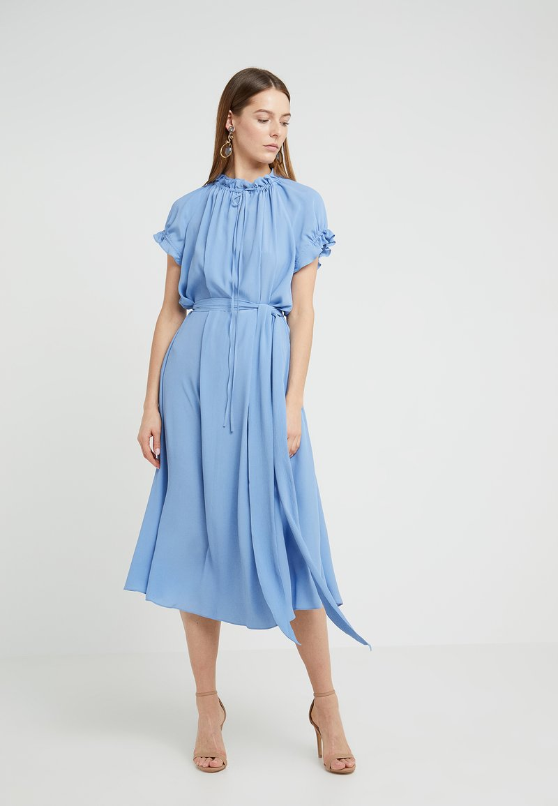 Escada - Robe d'été - dark baby blue