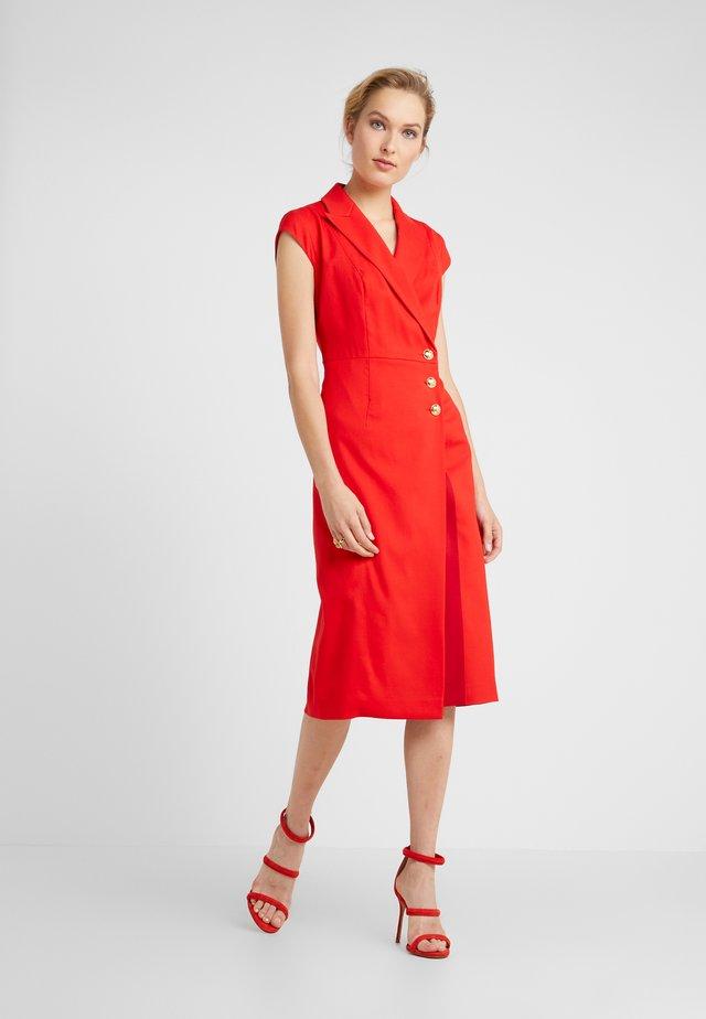 DHANA - Blusenkleid - red ruby