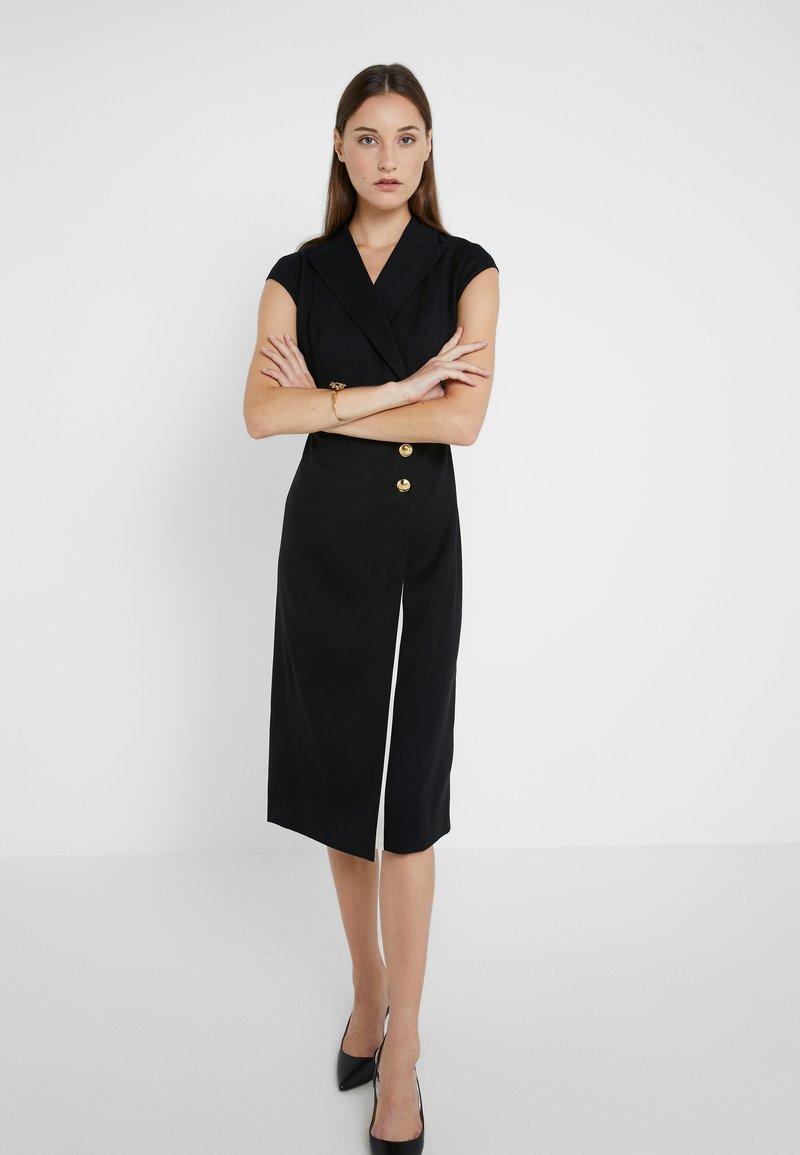 Escada - Skjortekjole - svart