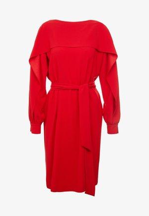 DAVI - Denní šaty - riga red