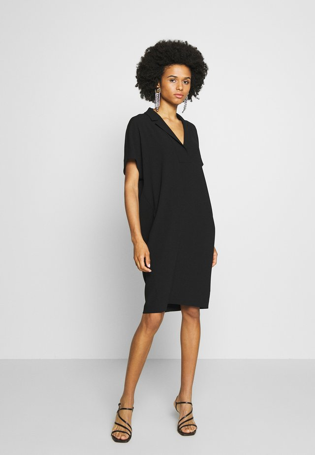 DIXANULANI - Shirt dress - black
