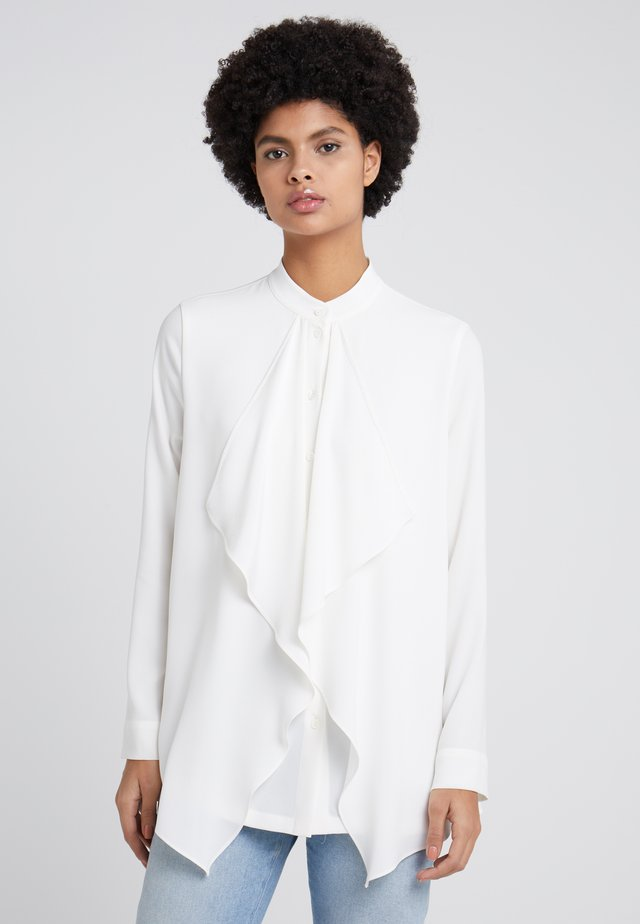 NHIUTURA - Button-down blouse - off-white