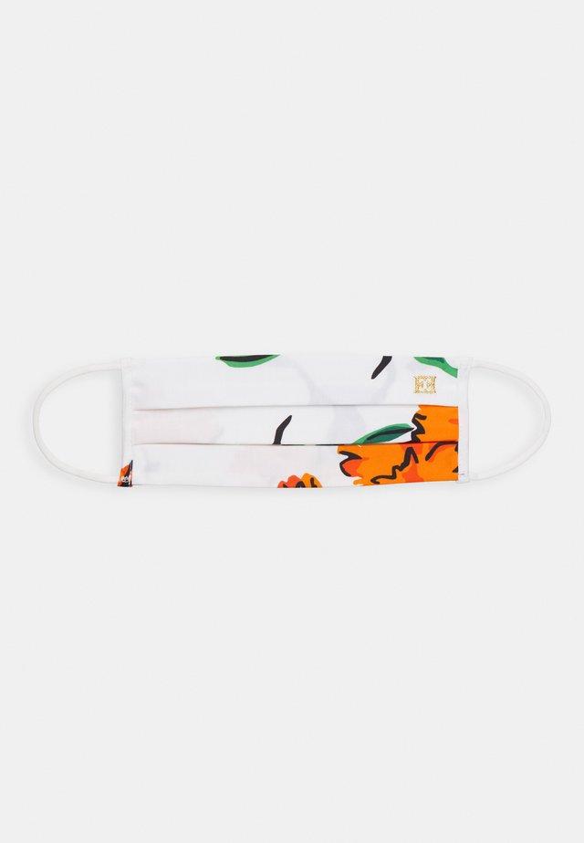 PRINTED FLOWERS LOGO - Community mask - multicoloured