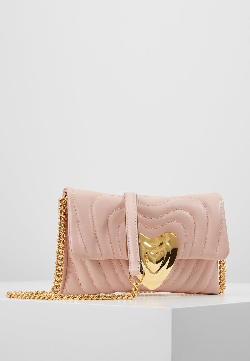 Escada - Taška spříčným popruhem - light pink