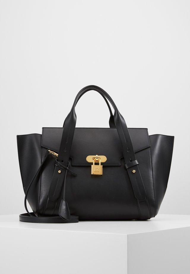 CLASSIC HANDBAG - Handtasche - black