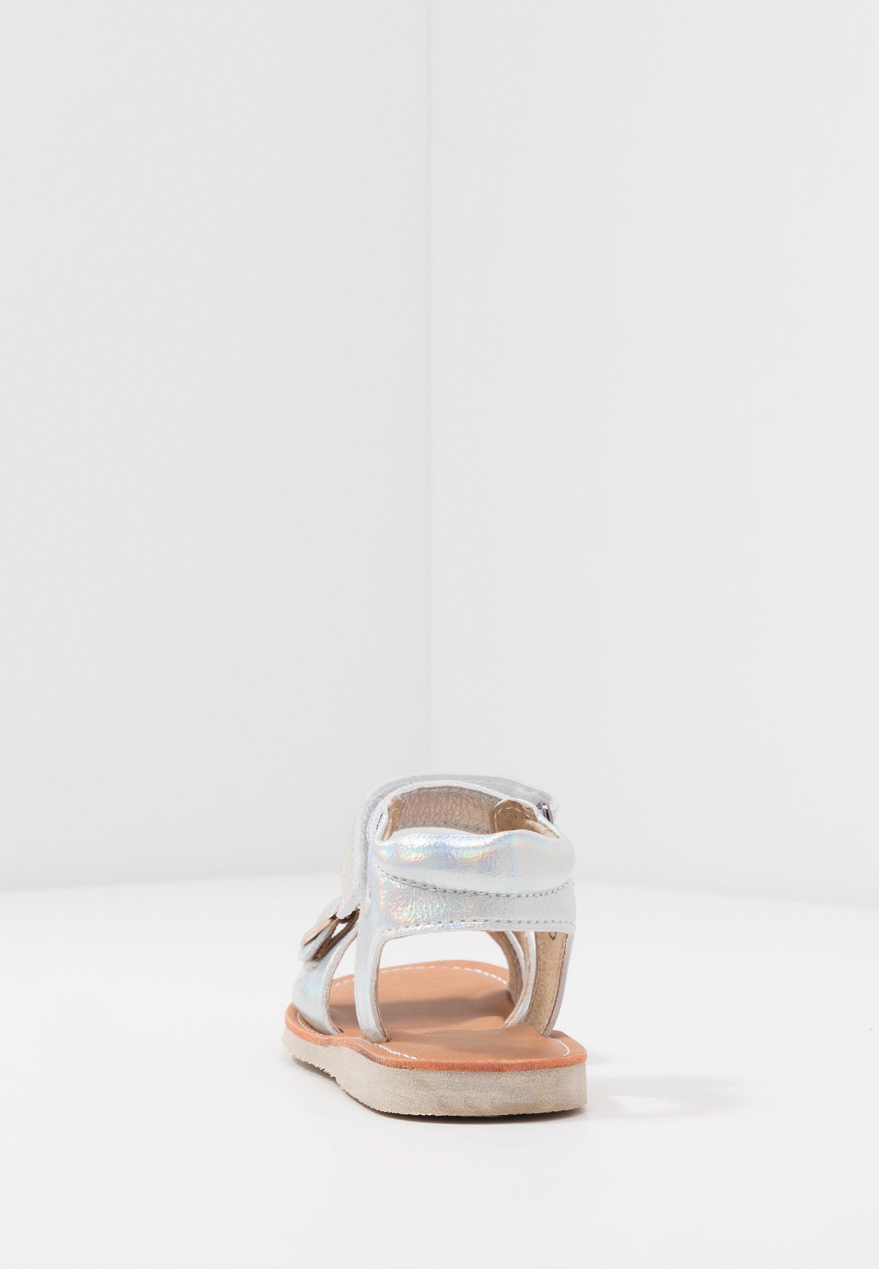 Shoesme CLASSIC - Sandały - white pearl silver