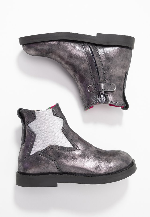 SILHOUET - Stiefelette - old silver