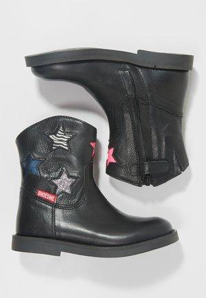 SILHOUET - Kotníkové boty - black/multi color