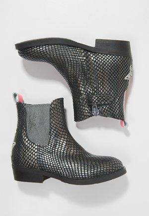WESTERN - Cowboy/biker ankle boot - old silver