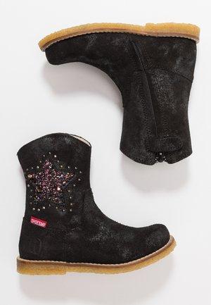 Cowboy/Biker boots - doha preto black