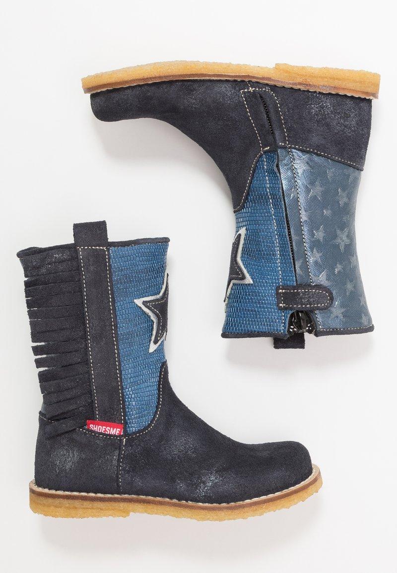 Shoesme - Cowboy/Biker boots - blue