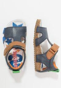 Shoesme - Sandály - dark blue/cognac - 0