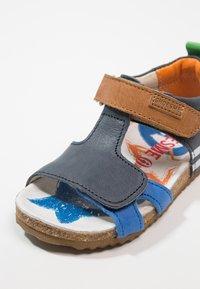 Shoesme - Sandály - dark blue/cognac - 2