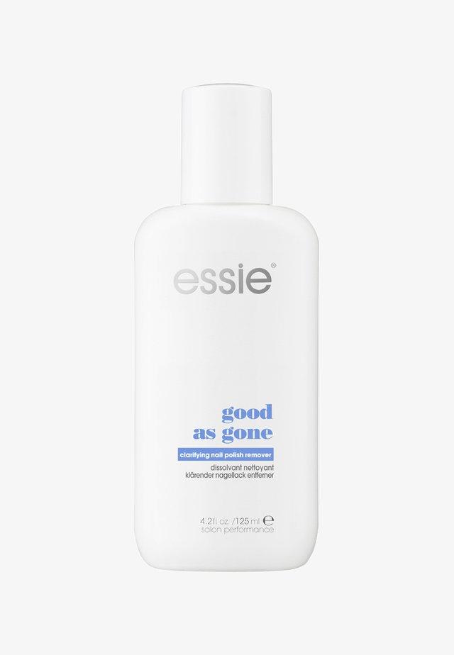 NAIL POLISH REMOVER GOOD AS GONE - Nail polish remover - good as gone