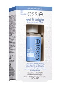 Essie - BASE COAT BRIGHTENING TREATMENT GET IT BRIGHT - Nail polish (base coat) - transparent - 1