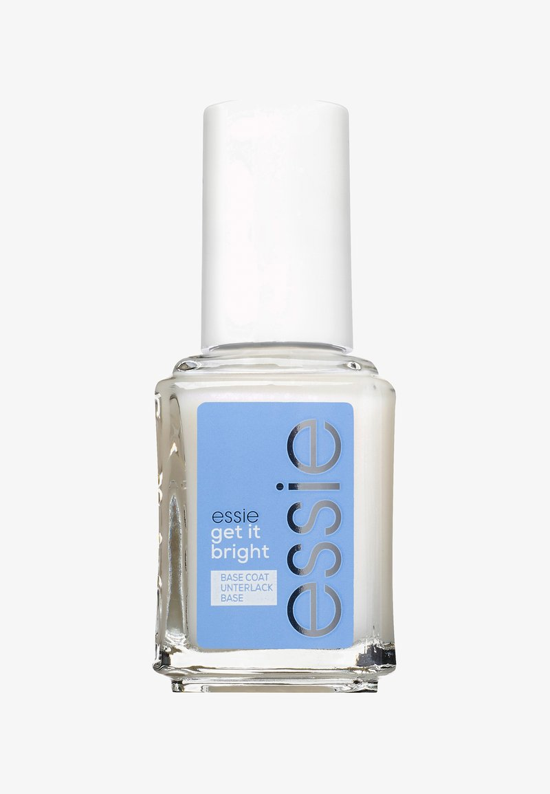 Essie - BASE COAT BRIGHTENING TREATMENT GET IT BRIGHT - Nail polish (base coat) - transparent