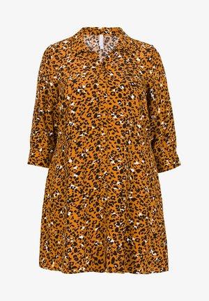 Shirt dress - saffran