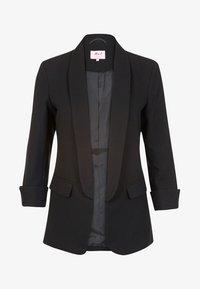 Miss E - Halflange jas - black - 0