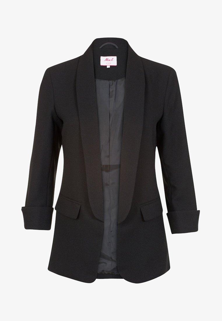 Miss E - Halflange jas - black
