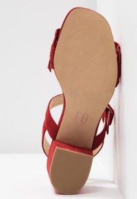 E8 BY MIISTA - SANDIE - Sandali - red - 6