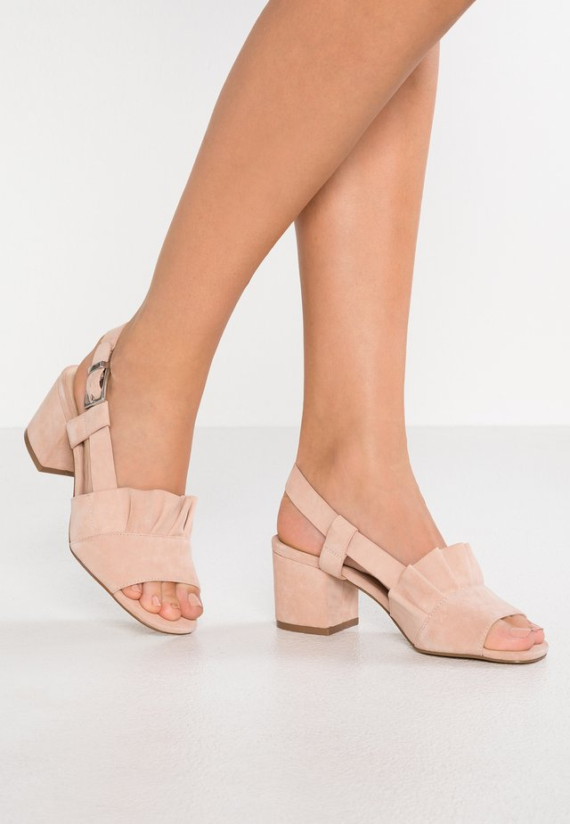 ROMEO - Sandals - blush