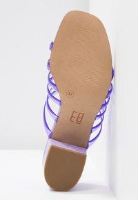 E8 BY MIISTA - ELENA - Sandalias - lilac - 6
