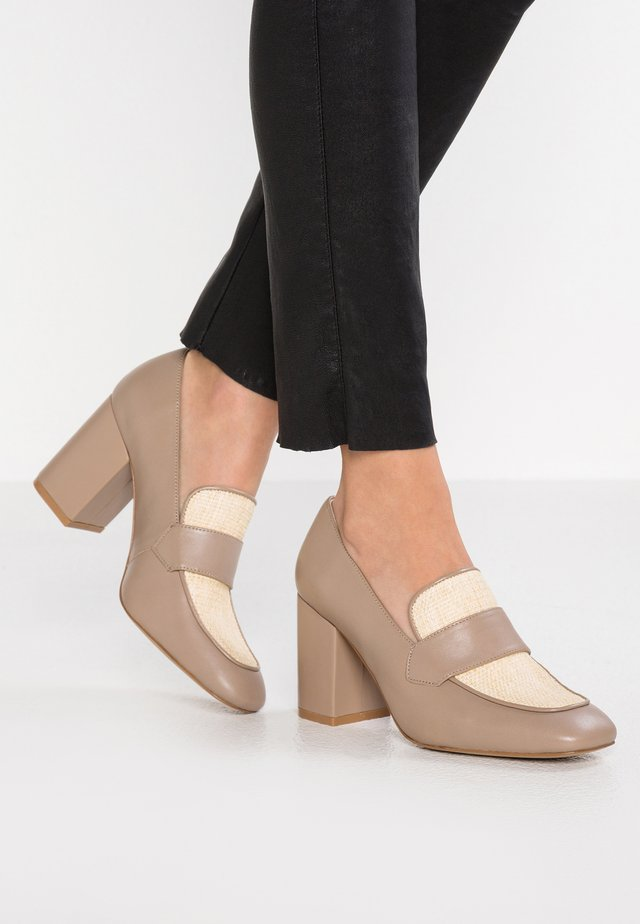 LINNEA - Pumps - taupe/cream