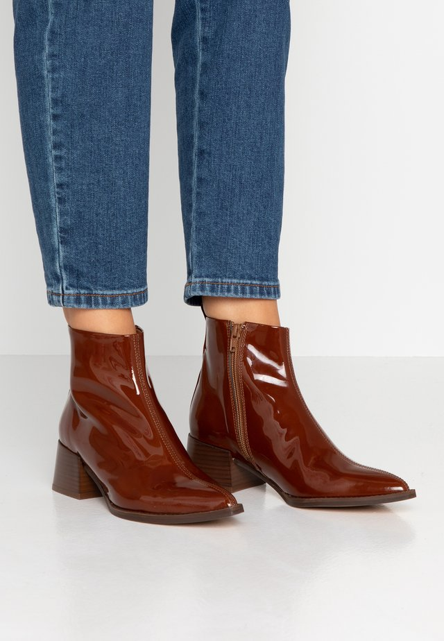 ELIN - Ankle boots - brown