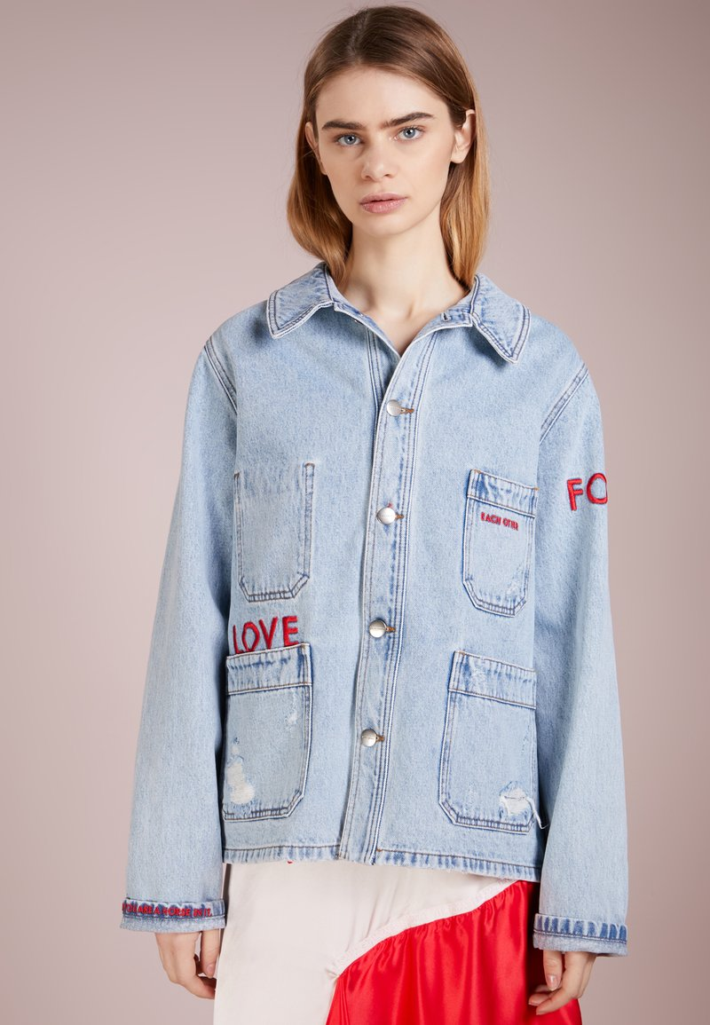 Each x Other - Jeansjakke - light-blue denim
