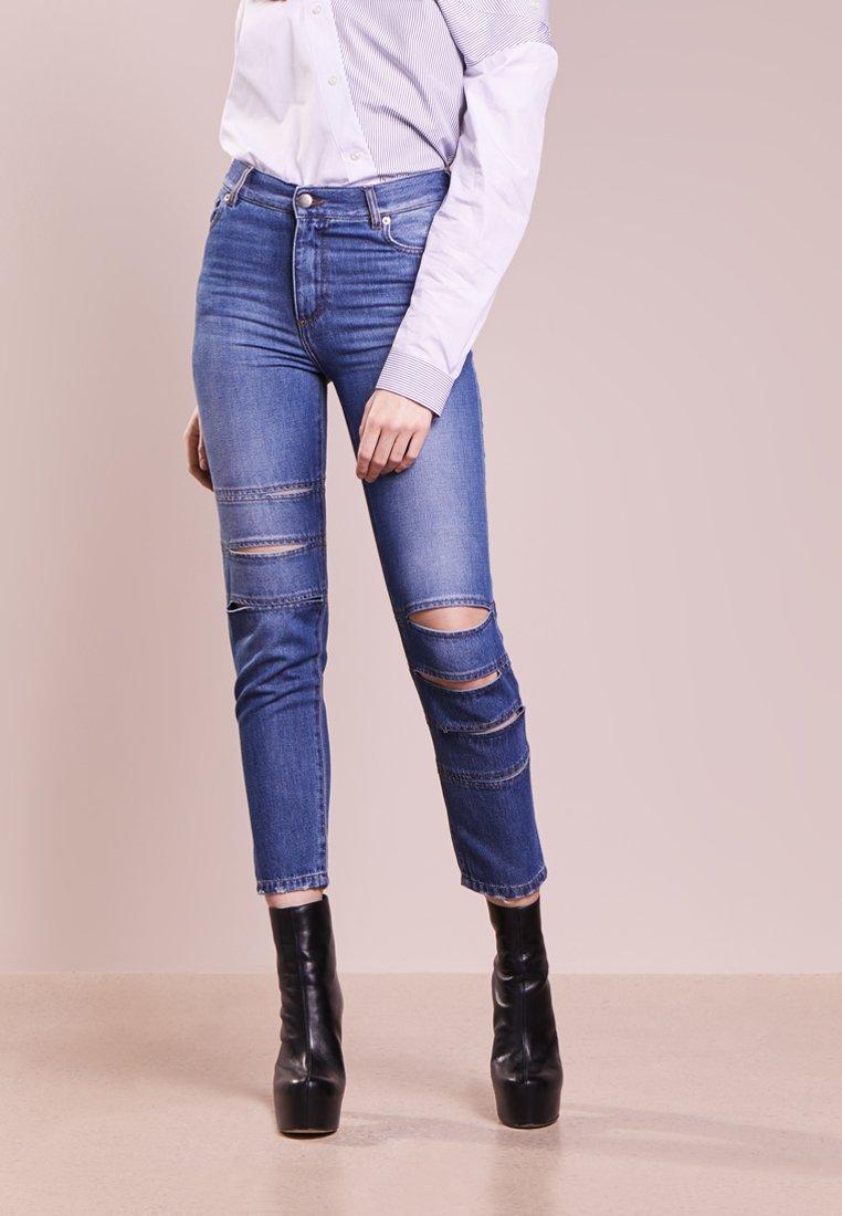 Each x Other - BANDS DENIM JEANS - Jeans Slim Fit - medium blue