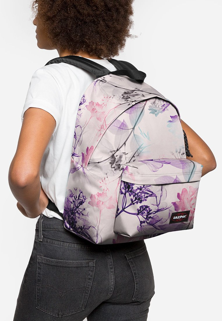 Eastpak - PADDED PAK'R/FLOWER-RAY - Rugzak - pink ray