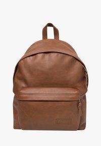 Eastpak - PADDED PAK'R/LEATHER - Rucksack - brownie leather - 1