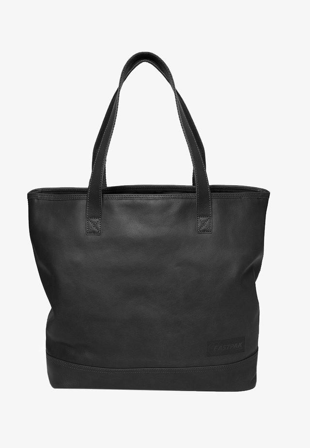 FLASK/LEATHER - Torebka - black ink leather