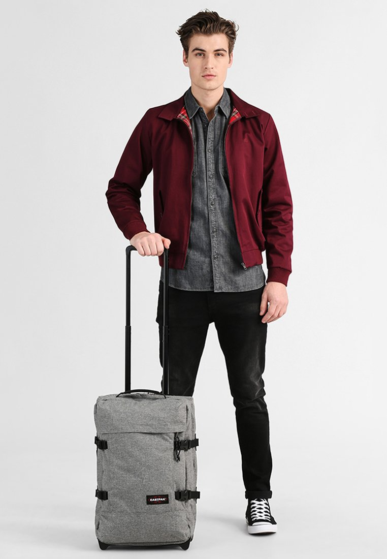Eastpak - TRANVERZ CORE COLORS  - Wheeled suitcase - sunday grey