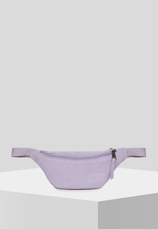 LEATHER SUEDE/TRIBUTE - Bum bag - suede lilac