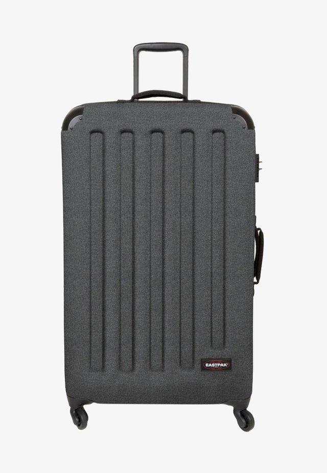 Wheeled suitcase - black denim