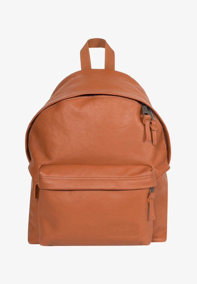 LEATHER/TRIBUTE - Mochila - brown