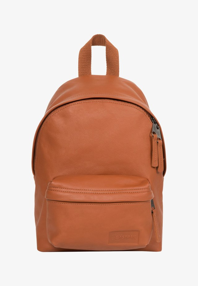 LEATHER / TRIBUTE - Rucksack - brown