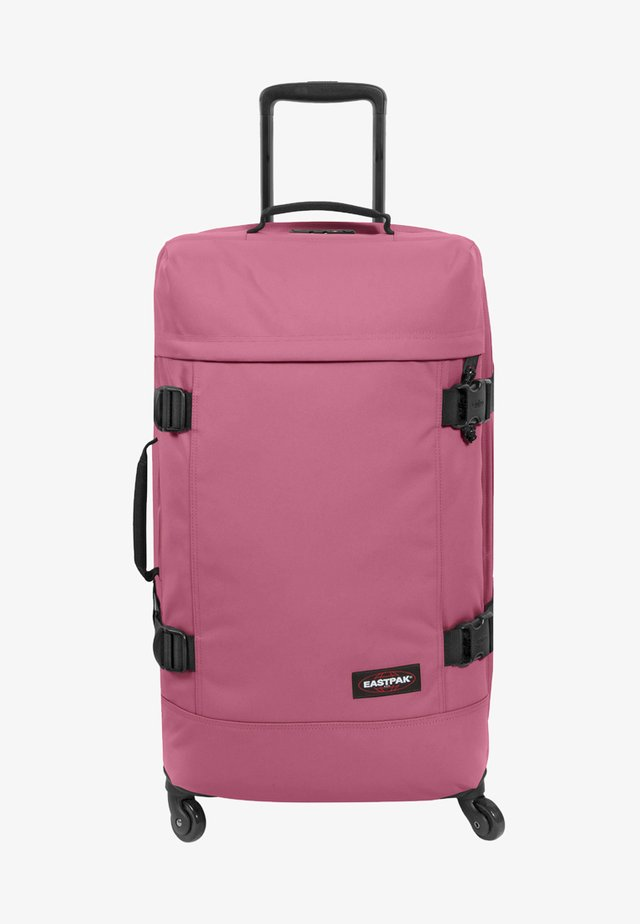 Wheeled suitcase - salty pink